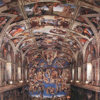 Muzea Watykańskie #6 - Michał Anioł - freski w Kaplicy Sykstyńskiej