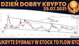 #DDK | 29.07.2021 | SEKRETY STOCK TO FLOW? DOMINACJA BTC OKOŁO 50%? BINANCE - NIEWYPŁACALNY? XRP - BYCZY NEWS?