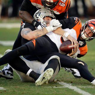 Cincinnati Bengals Weekly Show: Bengals/Raiders recap and Bengals/Steelers preview with Joe Kelly
