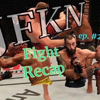 Jon Fitch knows nothing: Recapping this past weekend's fight card