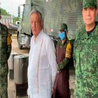 El Usumacinta sigue creciendo, advierte López Obrador