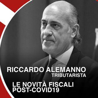 Riccardo Alemanno: le novità fiscali post-Covid19
