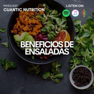 ❤ Beneficios de las ensaladas 🥗