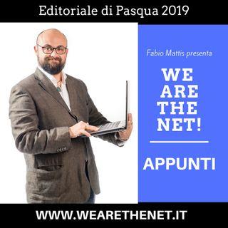 Editoriale di Pasqua 2019