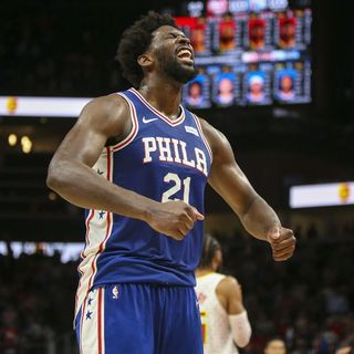 Embiid Rings The Liberty Bell Rings In Hotlanta