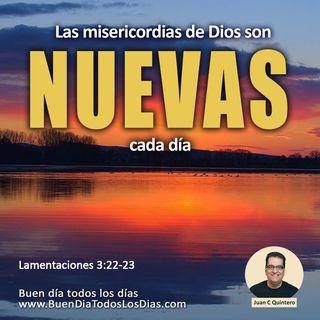 Cada día un nuevo comienzo con Dios