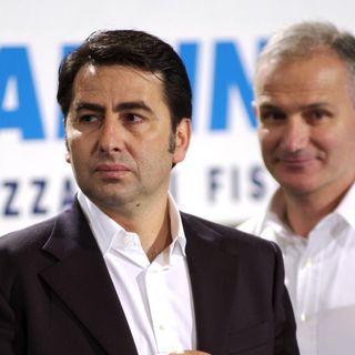 Patron Fabio Giulianelli dopo il match con Latina