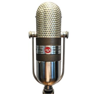 Vintage Microphone: RCA 77-DX. Audio examples and family history!
