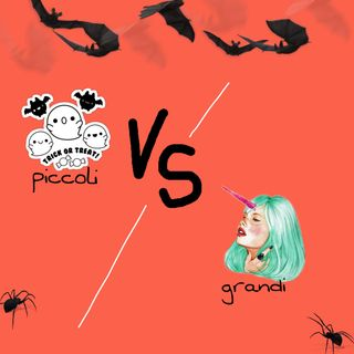 #rivaligure Halloween bambini vs adolescenti