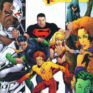 """Source Material #252 - """"Teen Titans"""" 1-12 (DC, 2003)"""