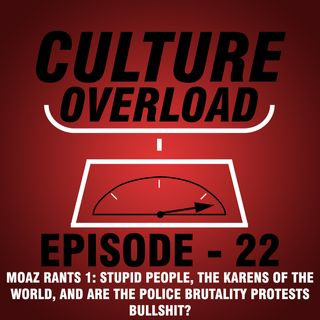 EP 22 - Stupid People, the Karens of the World, and Are the Police Brutality Protests Bullshit? (Moaz Rants #1)