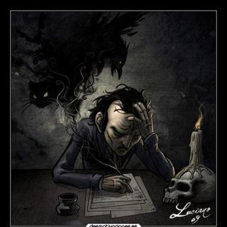 LA SOMBRA Y EL DEMONIO DEL CAMPANARIO DE Edgar Allan Poe/ Cuento de TERROR Cultura-Arte