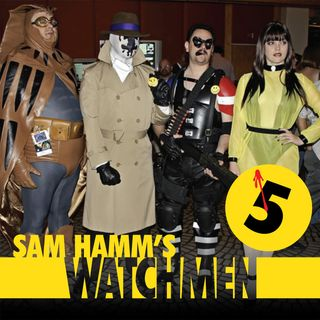 121 - Sam Hamm's Watchmen, Part 5