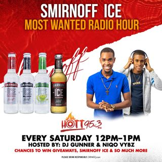 Gunner & Niqo Vybz Hype Dancehall Session On Hott 95.3 FM (Smirnoff Ice Most Wanted Show)