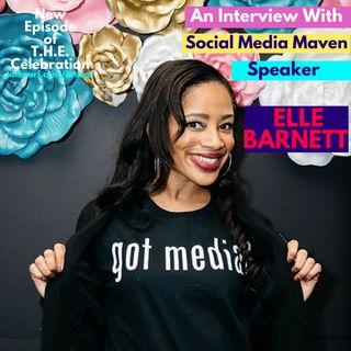 Social Media Maven and Speaker Elle Barnett