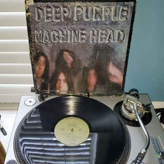 Deep Purple Sides 1 & 2 of Machine Head (1972) (Promotional Copy sticker)