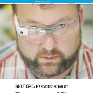 Ritornano: Google glass ora enterprise, spia aziendale ?