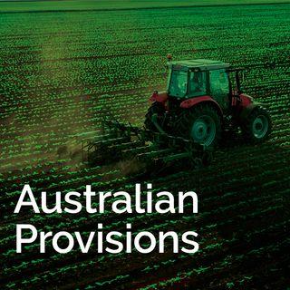 Australian Provisions