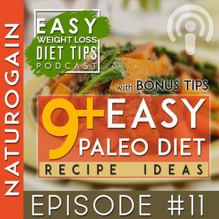 9+ EASY Paleo Diet Recipe Ideas   Ep 11 Podcast