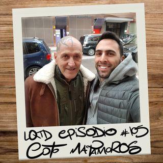 #105: Coto Matamoros - La polémica como forma de vida