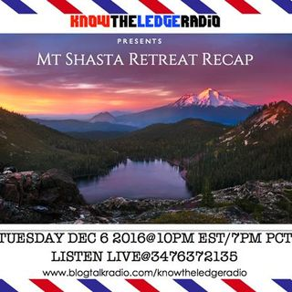 KTL RADIO presents MT SHASTA RETREAT RECAP