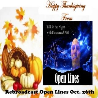 Rebroadcast open_lines_oct__26th_2018