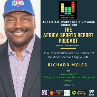 New Opportunities in Sports For Africa with the MFL