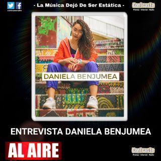 Entrevista Daniela Benjumea EN VIVO CONTRASTE FM