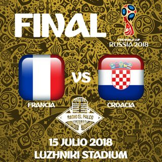 Francia vs Croacia en VIVO