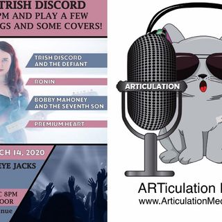 ARTiculation Radio — SATURDAY SOUNDS TO SAVOR (interview w/ Trish Discord)