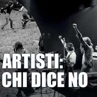 Artisti c'è chi dice no - Dietro il sipario - Talk show -