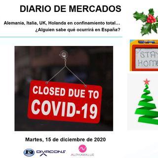 DIARIO DE MERCADOS Martes 15 Dic