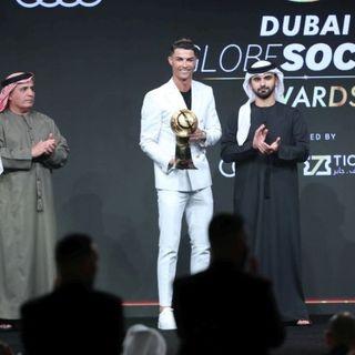 A Dubai i Globe Soccer Awards: CR7 miglior giocatore del secolo, Lewandowski top 2020