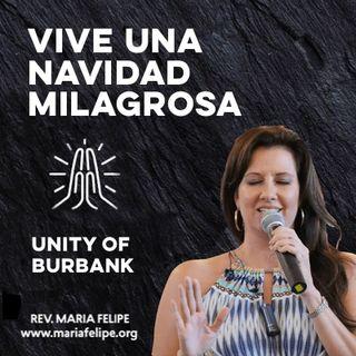 [CHARLA] ¡Vive Una Navidad Milagrosa! - UCDM - Maria Felipe