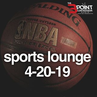The 3 Point Conversion Sports Lounge- Damian Lillard Top 5 (?), NBA Playoffs, Kyle Murray #1 (?),  The Bat-Flip  Epidemic,