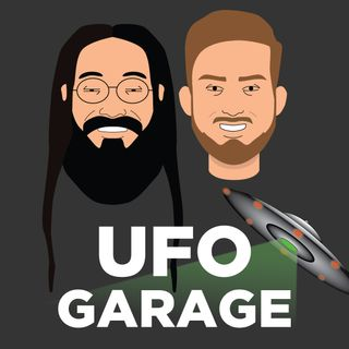 UFO Garage Episode 10 - Structures on the moon, Pleiadians and a pizza mustache