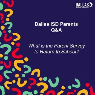 Parent survey return to school
