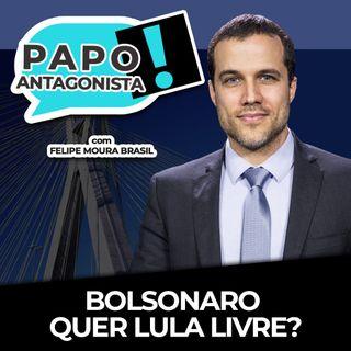 BOLSONARO QUER LULA LIVRE? - Papo Antagonista com Felipe Moura Brasil, Diogo Mainardi e Helena Mader