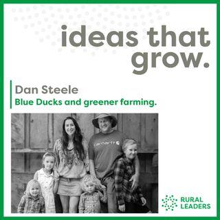 Blue Ducks and Greener Farming