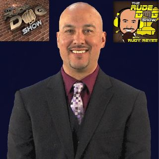 Rudy Reyes with Tucker Dale Booth discussing sports and more on TheRudeDogShow.com 100619
