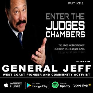 The Judge Joe Brown Show, Hosted by Valerie Denise Jones (General Jeff / Skid Row LA / 1 of 2)