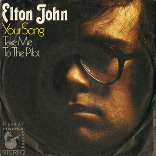 """""""YOUR SONG"""" compie 50 anni. Parliamo del capolavoro di Elton John, che fu pubblicato il 26 ottobre dl 1970."""