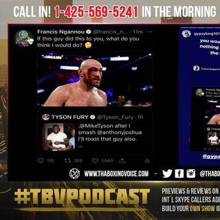 ☎️ Tyson Fury vs Francis Ngannou…🔴WAR of Words On Social Media😱 Haye On Fury-Joshua🤔