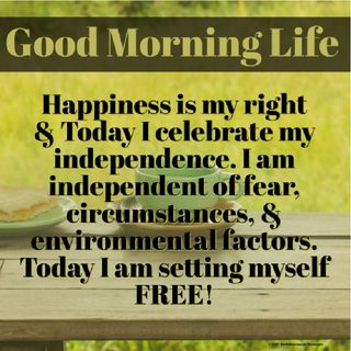 Good Morning Life Affirmation 8 of 52