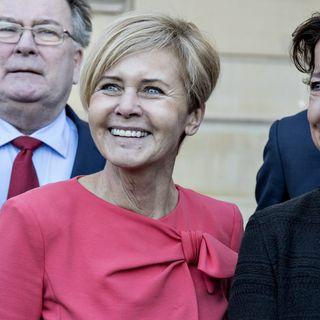 """'Mette Bock i 'Mod til at lede': """"Der skal visioner til for at lede""""."""