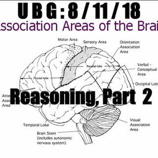 The Unpleasant Blind Guy : 8/11/18 - Reasoning, Part  2