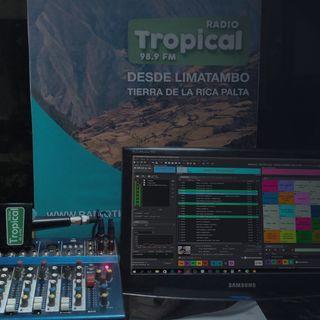 Dulce despertar Limatambeño, Mollepatino . . . 98.9 fm radio Tropical Limatambo