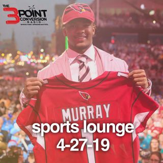 The 3 Point Conversion Sports Lounge- NFL Draft Thoughts, Tyreek & The Chiefs, NBA Playoffs, (MLB) Vlad Jr. Like Father