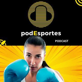 Fabiana Belai, treinadora UFC, no podEsportes