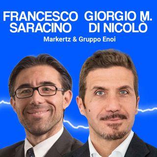 Francesco Saracino e Giorgio Maria Di Nicolò, Marketz e Gruppo Enoi